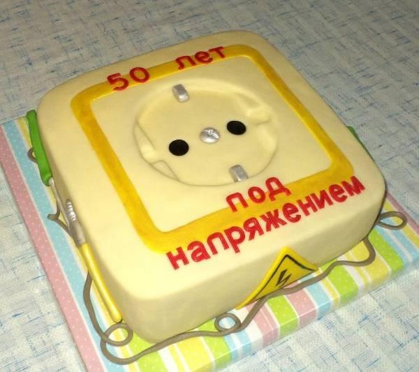 Торт для электрика своими руками 63