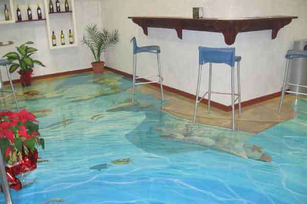 3д декоративные наливные полы гидроизоляция подвала мембраной