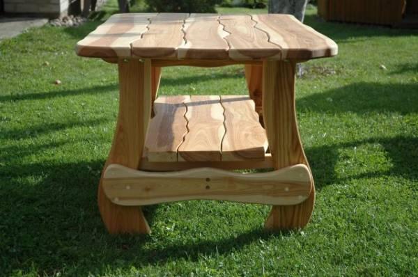 Дачные столики из дерева своими руками фото