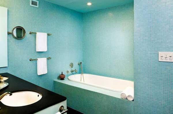 Ванная комната покраска потолка ванную комнату в минске