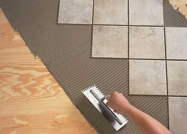 Как положить плитку на теплый пол