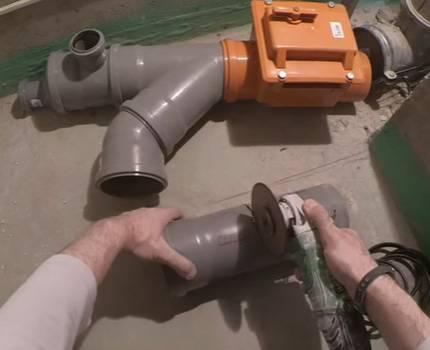 Установка обратного клапана на канализацию в квартире своими руками 73