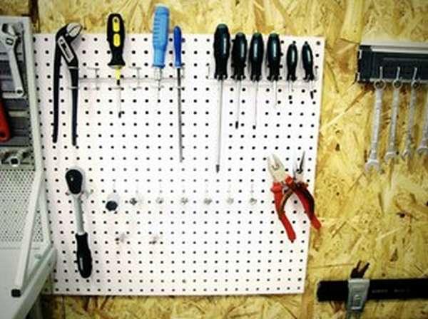 Инструмент для гаража своими руками из подручных материалов