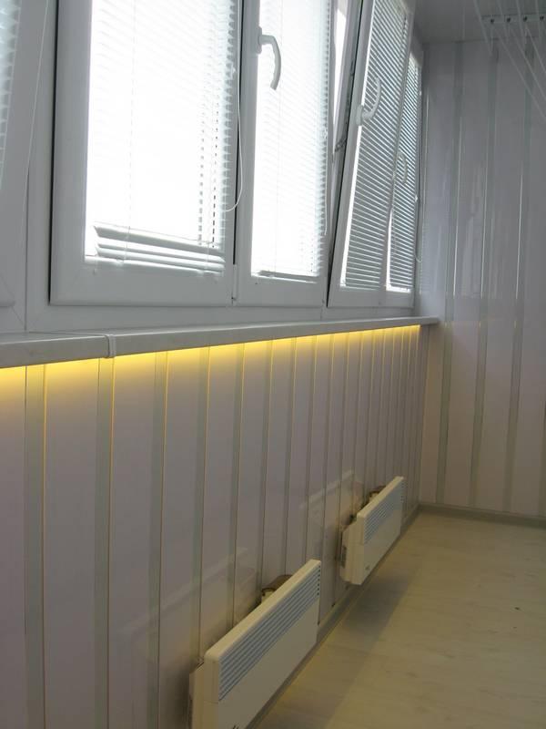 Декоративные панели для балкона.