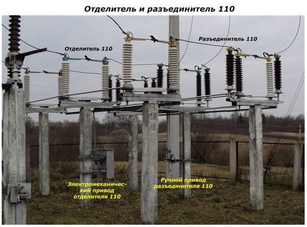 Для чего нужен оперативный ток на подстанции