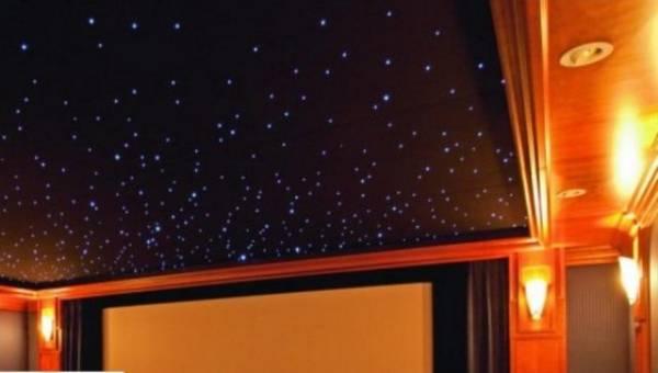 Светодиодное звездное небо своими руками