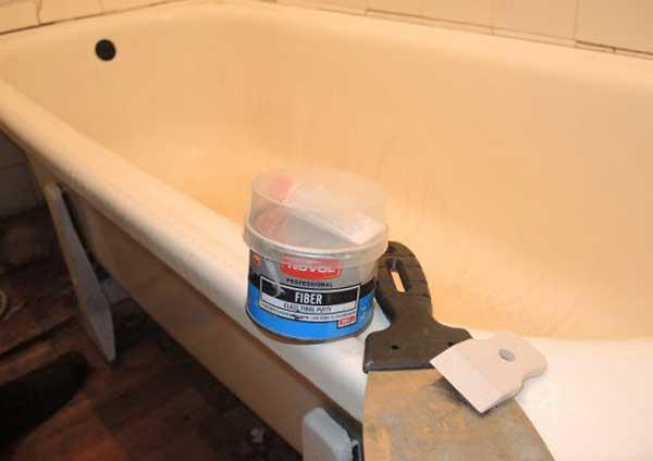 Ремонт трещин акриловых ванн своими руками