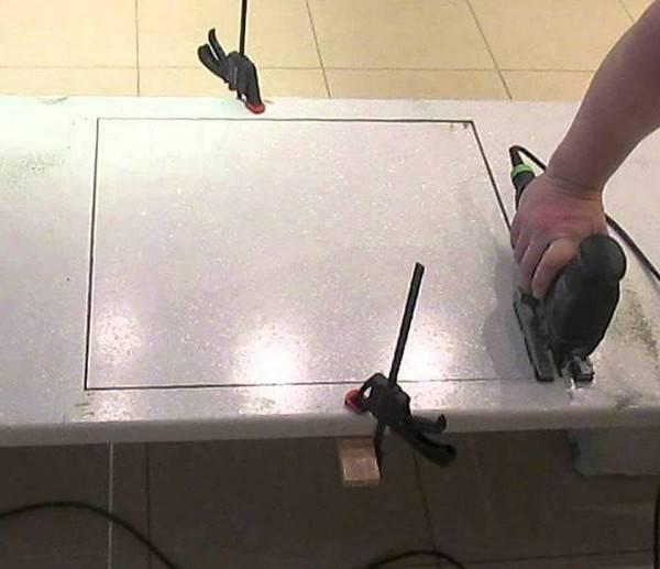 Установка варочной панели - Ремонт и дизайн кухни своими руками