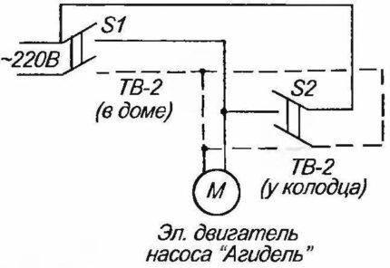Агидель насос схема подключения фото 152